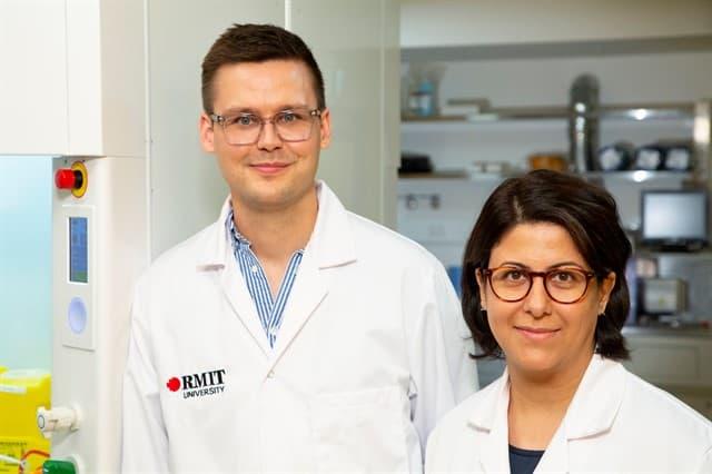 Dr Torben Daeneke ve Dr. Dorna Esrafilzadeh