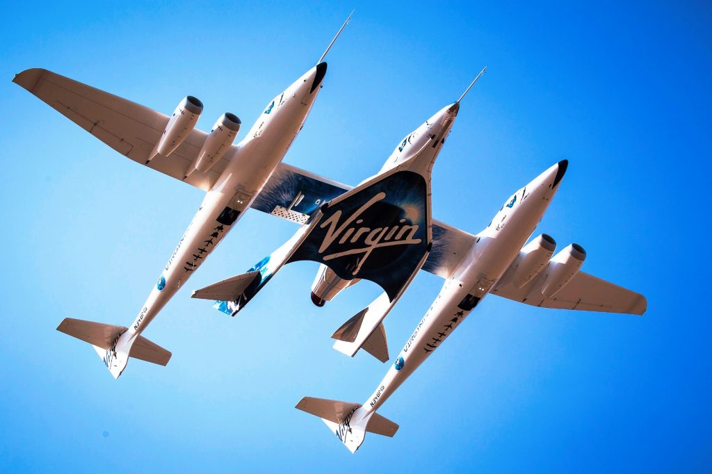 Virgin Galactic Third Powered Flight
